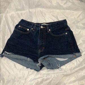 Tommy Hilfiger Dark Jean Shorts